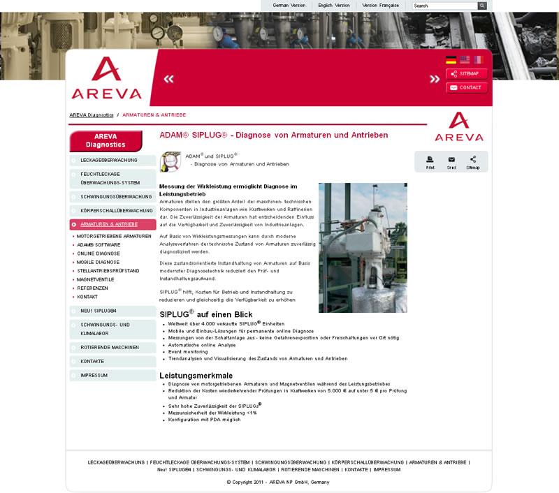 Nová webová prezentace pro jednoho z leaderů v jaderném průmyslu