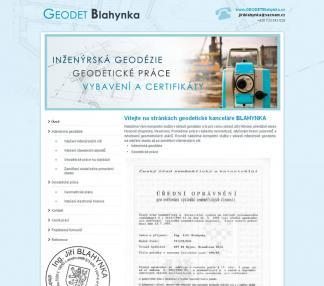 Geodet Blahynka